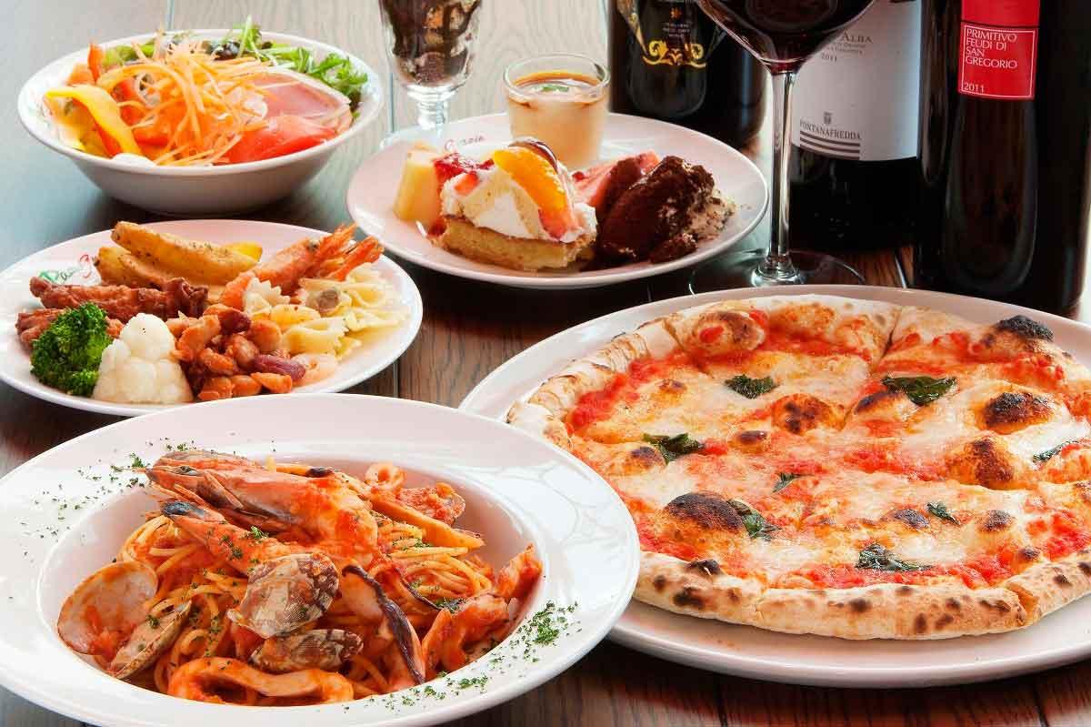 松江市の『パストグラッツェ』はバラエティー豊かな料理をビュッフェスタイルで味わえる人気レストラン!