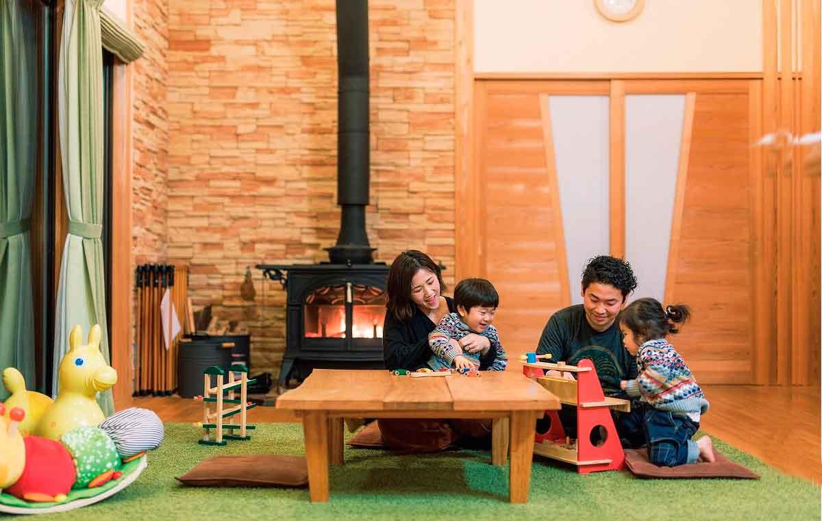 """松江市の『円建創』で1日1組限定で「無料宿泊体験」を受付中です! 憧れの木と薪ストーブがある暮らしが""""タダ""""で体験できちゃう♪"""